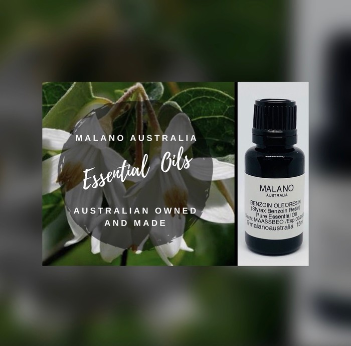 Benzoin Oleoresin 15ml Pure Essential Oil | Malano | madeit com au