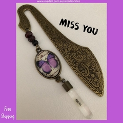 MISS YOU - bookmark