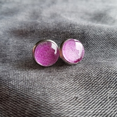 Wrap scrap stud earrings - Ankalia Pinkle