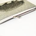 Screen printed echidna pouch / clutch / purse / wallet