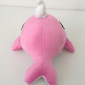 Pink Narwhal Plush Unicorn of the Sea Whimsical gift narwhal