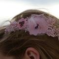 ODETTE Pink Hair Comb