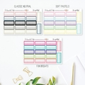 Habit Tracker Planner Stickers, Habit Tracker Stickers - SML035