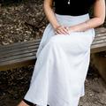 Women's Maxi Skirt in Linen