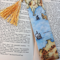 Explore Dream Discover Art Bookmark Old Map Great Gift Idea
