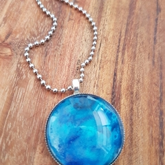 Blue ocean pendant