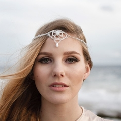 Hannah Woven Beaded Hair Jewellery