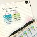 Habit Tracker Planner Stickers, Habit Tracker Stickers - SML035