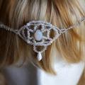 Hannah Woven Beaded Hair Jewellery