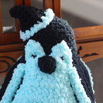 Puddles the hand crocheted penguin by CuddleCorner: christmas, OOAK, christmas
