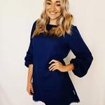 Women's Long Sleeve Tunic in Linen