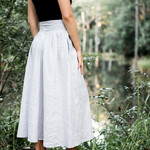 Women's Maxi Skirt in Linen