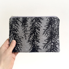 Screen printed Huon pine pouch