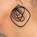 Scrawl Earrings - Large