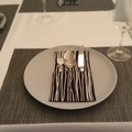 Black Scandi Cutlery Holders (Set of 4) for table decoration