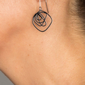 Scrawl Earrings - Small