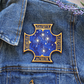 Southern Cross Constellation Embroidered and Iron on Patch