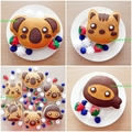Play Food Kitchen Felt Pancake Pretend Food Tea Party Christmas Birthday Gift