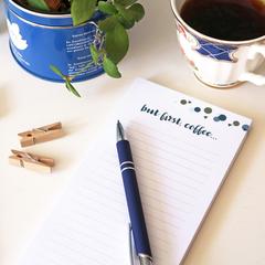 Kinfolk 'But First, Coffee' DL Notepad