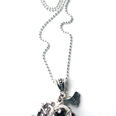Bird Nest Necklace - Dark Brown