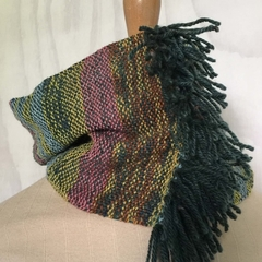 Meadow - Hand Woven Scarf, Neck Warmer