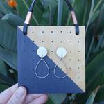 Drop earrings, teardrop earrings, dangle earrings, dainty earrings, gift for her