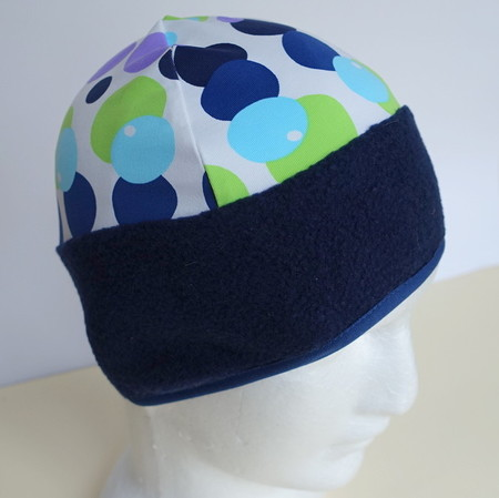 Beanie: unisex, lycra, fleece, slim fit, cycle, ski or sun protection
