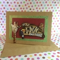 'It's a Zoo Out There' Inspirational Kraft Card