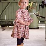 Halllie Ruffle Dress