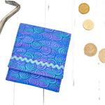 Small gadget bag, blue wallet