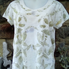 Wild wear Tshirt, cotton leaf print