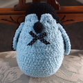 Paddles the hand crocheted penguin by CuddleCorner:christmas, OOAK, christmas