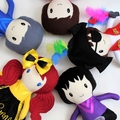 CUSTOM Emma Wiggle Inspired Doll Handmade  Softie First Birthday Cloth Rag Doll