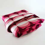 Pink and Purple Cat's Eye Shopping Tote - Free Postage