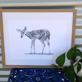 Deer - Limited Edition A3 Print (Ed. 10 of 50)