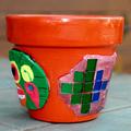 Garden Planter - Aztec