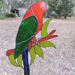 King parrot Leadlight Light catcher /  Suncatcher