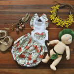Gumnut Babies First Birthday Outfit - Australian Bush Bloomers and singlet