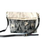 Fold Over Clutch - 'Forest'