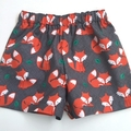 "Size 3 & 4 ""Foxes"" Shorts"