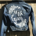 Personalised denim jacket kit