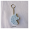 BLUE - necklace or bag tag - you choose the design