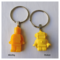 YELLOW - necklace or bag tag - you choose the design