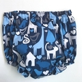 """Sizes 1 to 3 months,  6  and 12 Months """"Animal World"""" Nappy Pants & App/Singlet"""