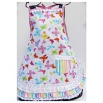 Butterfly Kisses girls apron