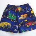 "Size 3 ""Trucks & Diggers"" Shorts"