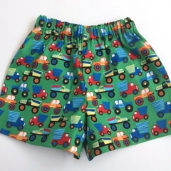 "Sizes 2  - ""Little Movers"" Shorts"
