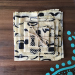 4 pack of gentleman's beeswax food wraps