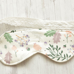 Woodland ~ Sleep Mask ~ Face Mask Accessories Travel Eye Mask Cotton Sleep Mask
