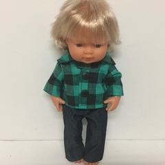 Dolls Shirt and Jeans to fit 38cm Dolls